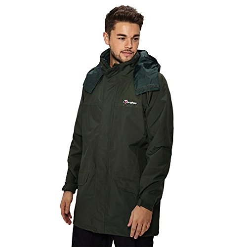 Berghaus Waterproof Long Cornice Men's Outdoor Hooded Jacket