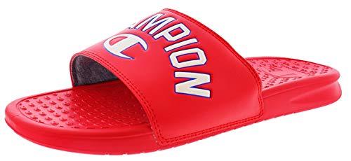 Champion Club Men's Slide Sandals Scarlet