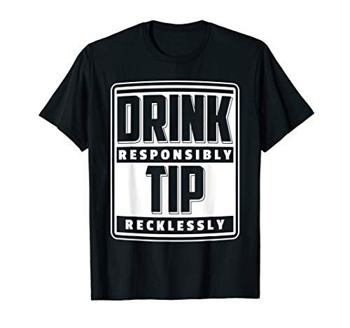 Bartender Barkeeper Barmann Geschenk Coktails Drinks Party T-Shirt