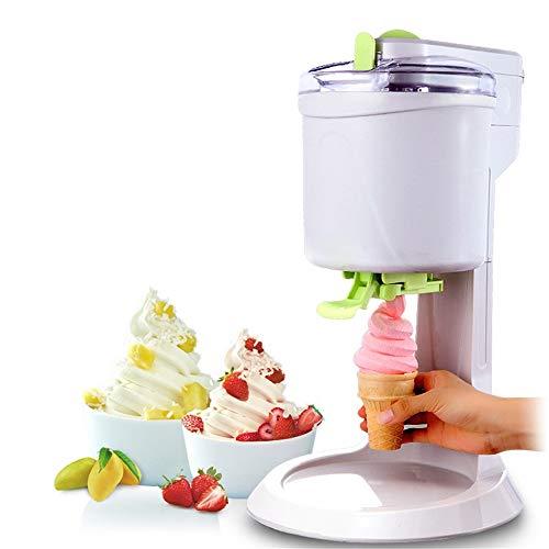 NLYWB Macchina per Dessert surgelata da 1,5 Quart, Macchina per Il Gelato Fai-da-Te per la casa, Veloce, Facile da Pulire Liscia per Sorbetto, Sorbetto Morbido e prelibatezze di Frutta congelata