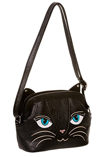 Gebannt Katzen-Tasche - Black/One Size