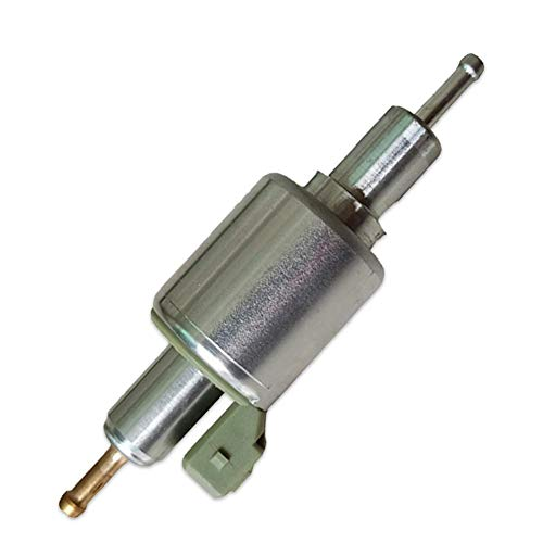 Hearthrousy Kraftstoffpumpe Standheizung Elektrische 12 V / 24 V Diesel standheizung pumpe Diesel Inline Elektrische Kraftstoffpumpe für Standheizungsluft 2000W 5000W 8000W