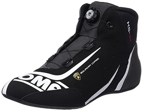 OMP OMPIC/810LAMB07147 Sneaker, zwart/zilver, 47