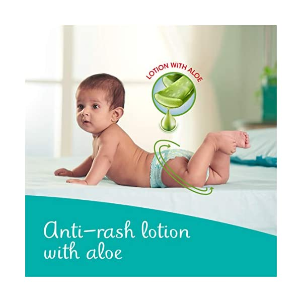Pampers All round Protection Pants, Extra Large size baby diapers (XL) 112 Count, Lotion with Aloe Vera 2 41LNBz5+S8L
