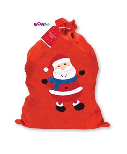 1x Grand Père Noël Père Noël rouge cadeau de cadeaux de Noël