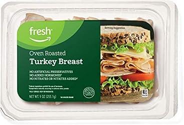 Fresh Brand – Sliced Oven Roasted Turkey Breast, 9 oz