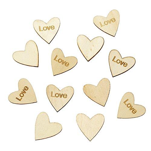 Petit coeur en bois LOVE