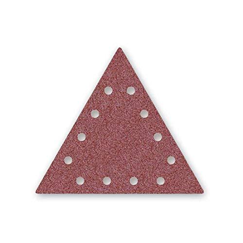 MENZER Red Klett-Schleifscheiben, 290 x 250 mm, 12-Loch, Korn 240, f. Trockenbauschleifer, Normalkorund (25 Stk.)