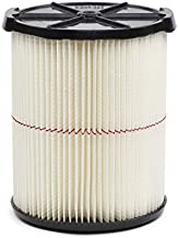 Craftsman - 009-38754 CRAFTSMAN CMXZVBE38754 Red Stripe General Purpose Wet Dry Vac Replacement Filter for 5 to 20 Gallon Shop Vacuums