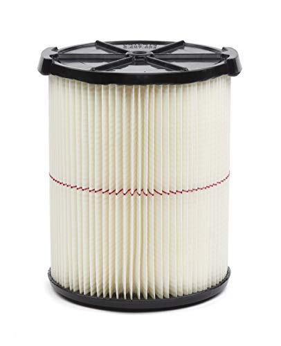 Fits Model 5-Gallon and up Wet /& Dry Vacuums 1 Pack Bulk Think Crucial Replacement Vacuum Filter Compatible with Shop-Vac Cartridge Filter Part # 90238