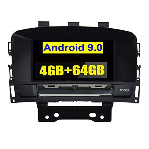 Autosion Android 9.0 - Navegación GPS para Coche (Pantalla táctil de 7 Pulgadas, 8 núcleos, 4 GB + 64 GB, Radio de Coche para Opel Astra J 2010-2017, Buick Excelle XT GT Buick Verano)