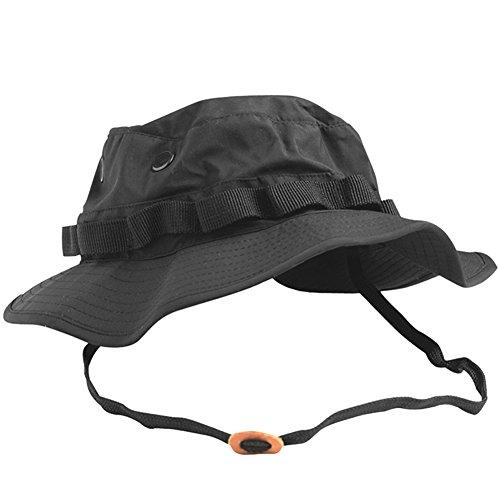Cappello Militare - Esercito USA - Trilaminat - Nero - Nero, XL