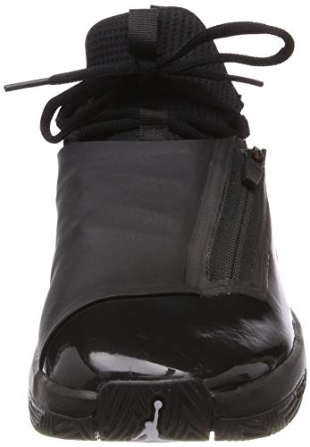 Nike Jordan Jumpman Hustle, Zapatos de Baloncesto Hombre, Negro (Black/White/Black 001), 42 EU