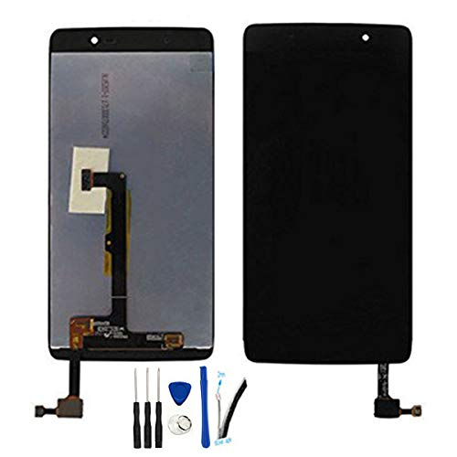 General LCD Screen Replacement for Alcatel One Touch Idol 4 OT6055 6055P 6055U 6055B 6055H 6055Y 6055K 6055I 6055 5.2' Display Digitizer Touch Screen Assembly (Black no Frame)
