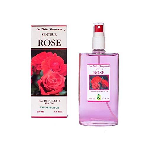 Rose - Eau de Toilette pour femme - Florale - Artisan Parfumeur en Côte d'Azur (100ml)