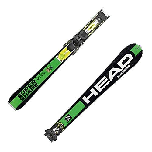Head i. Supershape Magnum Esquí + Fijaciones plg 12S, modelo 2016 Verde Negro y verde Talla:170 cm