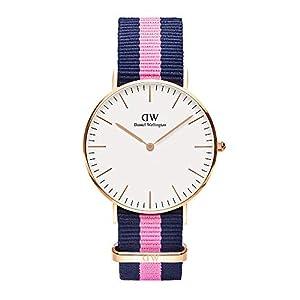 Reloj para mujer con correa de tela, diseño Classic Winchester de Daniel