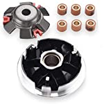 CLEO High Performance Variator Assembly Front Clutch for GY6 125cc&150cc 152QMI 157QMJ Engine Scooter Moped ATV Go Kart Taotao