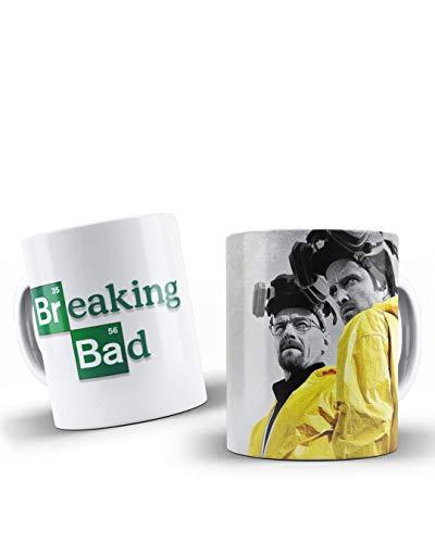 adaysusdetalles Taza Breaking Bad,Taza Ceramica, Unidad Desayuno Regalo Cumpleanos Sorpresa