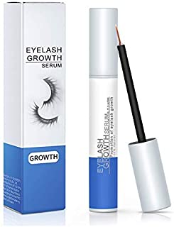 KAJURY Eyelashes Growth Serum, Natural Lash Boost Enhancer and Brow Serum, Nourish Damaged Lashes, Promote Rapid Growth of Eyebrows and Lashes (5ML)