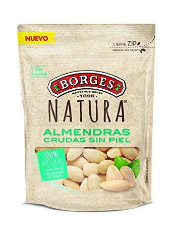 Borges Almendra sin Piel Cruda Borges Natura Borges, 110g