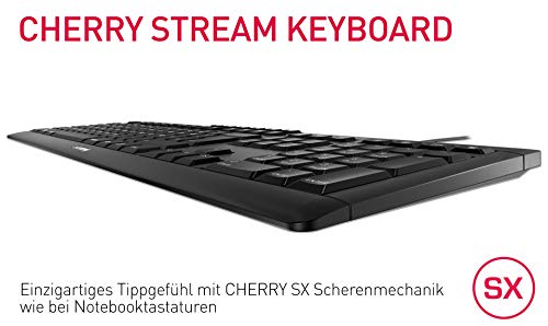 CHERRY STREAM KEYBOARD schwarz deutsches Layout - 2