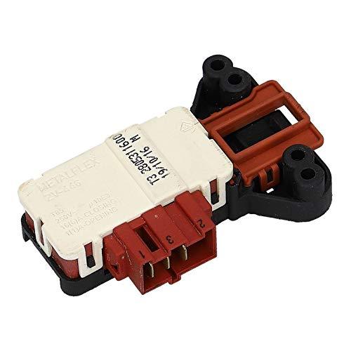 LUTH Premium Profi Parts Türverriegelung Verriegelungsrelais Metalflex ZV446 T3 für Beko Fagor 2805310800 2805311600 Waschmaschine