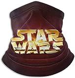 Star Wars - Pañuelos para el cuello, lavable, ajustable, cálido, protección facial, transpirable, reutilizable, para hombres y mujeres, fabricado en Estados Unidos, color negro