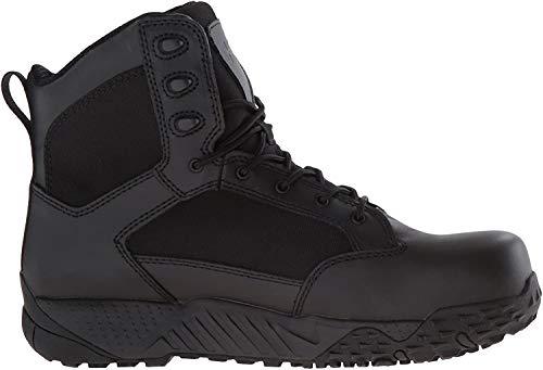 Under Armour Men's Stellar Protect Military and Tactical Boot, Black (001)/Black, 14