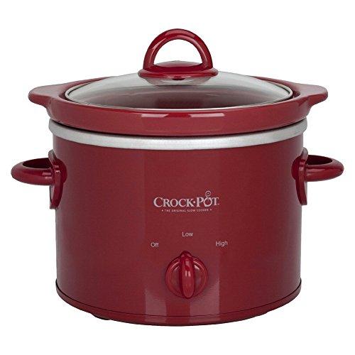 Crock Pot Classic 2 Quart Manual Control (Red)