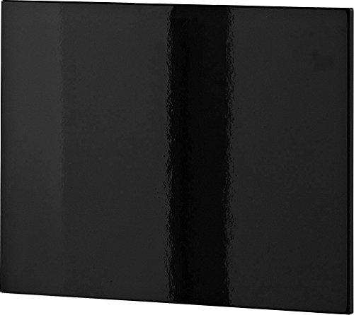 Germania 3263-83 Klappe/Front zum Schuhschrank Colorado in schwarz Hochglanz, 52 x 42 x 2 cm (BxHxT)