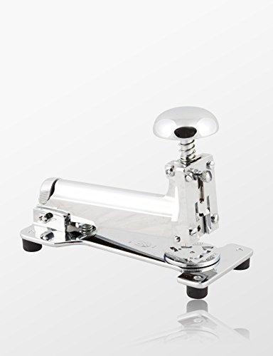 El Casco M15großen Schreibtisch Hefter Shiny Chrome