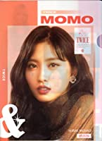 TWICE(トゥワイス ) モモ MONO A4クリアファイルR 韓国 ap03