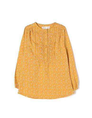 ZIPPY Blusa Estampada, Beige (Tinsel 16/0945 TC 1591), 7 años (Tamaño del Fabricante: 6/7) para Niñas