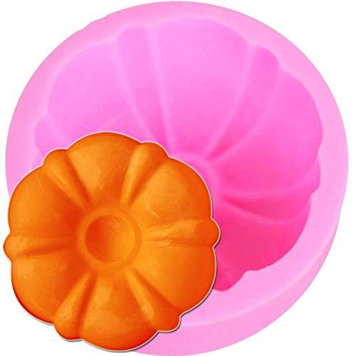 Artisanat bougie moule savon silicone en forme de fleur 3D moule gourde sous forme de savon pas cher Outils de bricolage