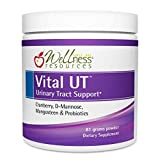 Vital UT Urinary Tract Supplement with Cranberry (36mg PACs), d-Mannose, Mangosteen, and LactoSpore Probiotic (30 Servings, Powder)
