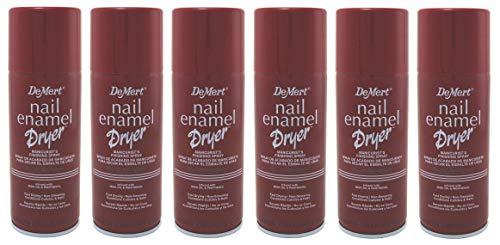 Demert Nail Enamel Dryer Spray 7.5 Ounce (221ml) (6 Pack)