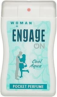Engage Cool Aqua Pocket Perfume,18 Ml (Pack Of 3)