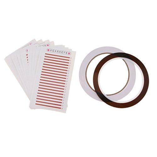 Sharplace Colle adhésive palette Coussin de support de cils pour Extensions de cils yeux sourcils cils modèle carte
