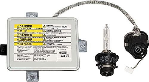 Xenon HID Headlight Ballast with Igniter, D2S Bulb Assembly Module Compatible with 2002-2005 Acura TL / TSX/ TL Type-S, 04-06 Mazda 3, 04-09 Honda S2000 Replaces W3T10471 X6T02971
