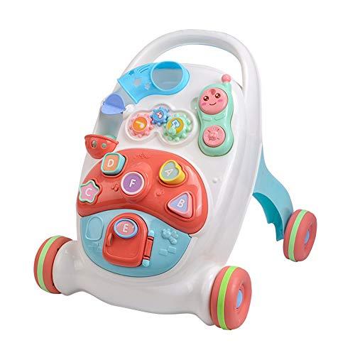 LTSWEET Baby Lauflernhilfen Gehfrei Lauflernwagen mit Wassertank Baby Walker Sicherheit Anti Rutsch Räder Kinder Spielzeug Geschenk Förderung Motorischer Fähigkeiten