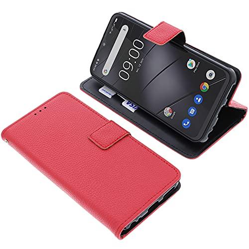 foto-kontor Tasche für Gigaset GS4 Book Style rot Schutz Hülle Buch