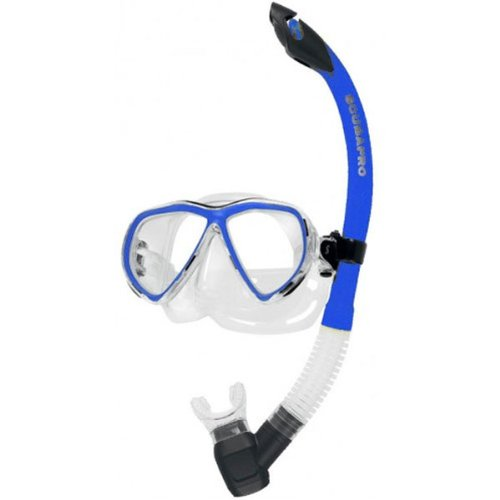 Masken und Schnorchelset Currents Combo Pro Scubapro Farbe Blau