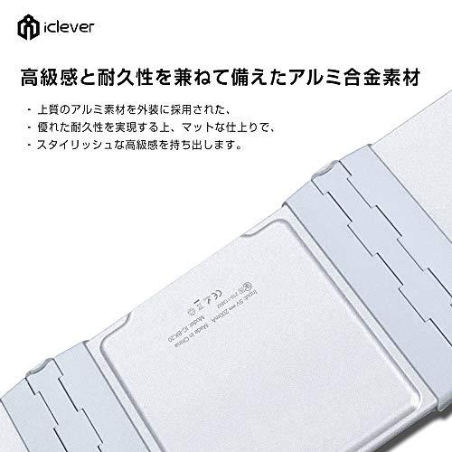 41LNQZ3lOML-折り畳み式フルキーボードの「iClever  IC-BK05」を購入したのでレビュー!小さくなるのはやっぱ便利です。