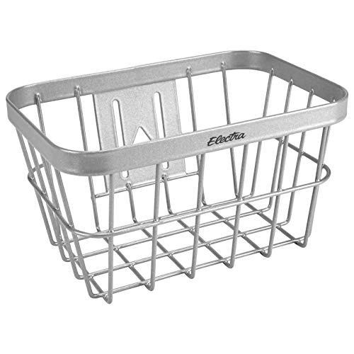 Electra Bicycle Electra Fahrradkorb Small Wired Basket, Silber, 5923