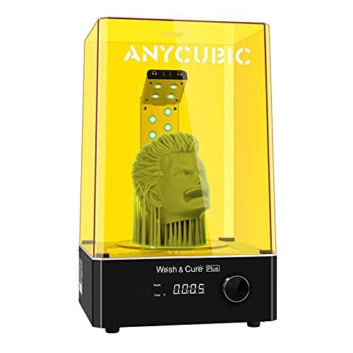 ANYCUBIC Wash Cure Machine Plus per modelli di stampante 3D SLA DLP LCD, scatola di lavaggio e polimerizzazione UV 2 in 1 Plus per Photon Mono X, dimensioni di polimerizzazione: 190 mm (P) 245 mm (A)
