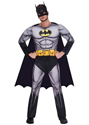 Amscan 9906097 Adult Mens Official Warner Bros. Licensed Deluxe Batman...
