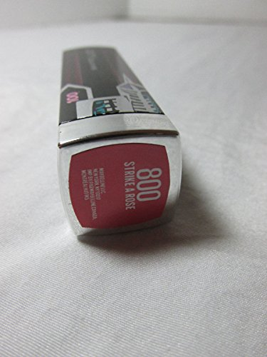 Maybelline 100th Anniversary Limited Edition Lipstick 800 Strike A Rose