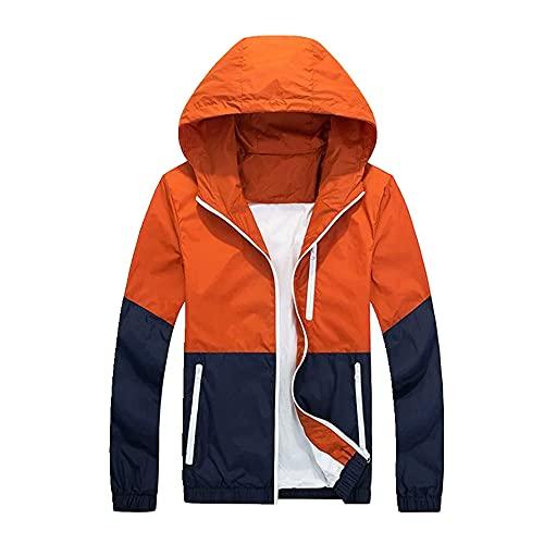 Protección solar transpirable ropa con capucha chaqueta de los hombres