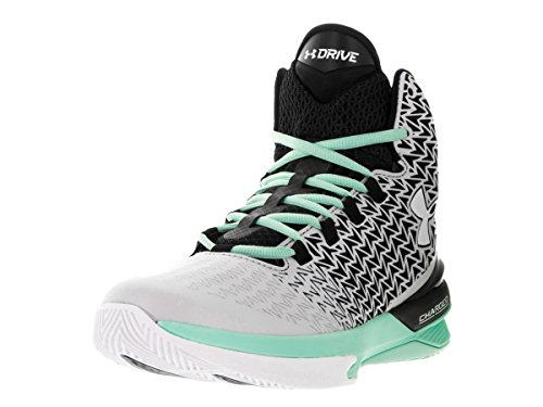 Under Armour Women's ClutchFit Drive 3 Basketball Shoe Aluminum/Crystal/White Size 10 M US